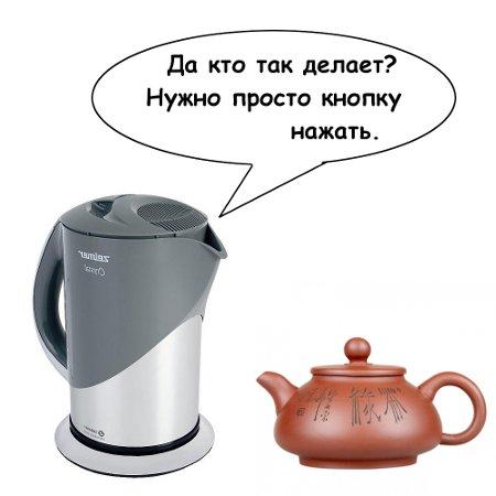 Диалог двух чайников