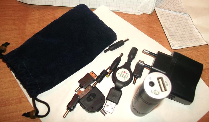 Аккумулятор внешний Dicom, универсальный, 2200 mAh