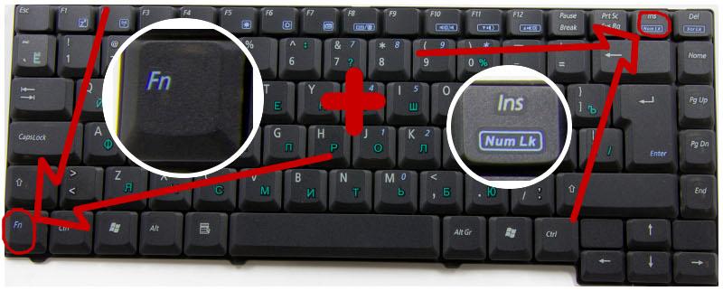 Две волшебные клавиши и вы снова пишите буквами