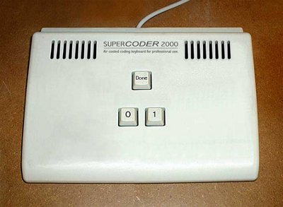 Клавиатура настоящего кодера